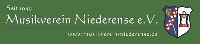 Musikverein Niederense e. V. Logo